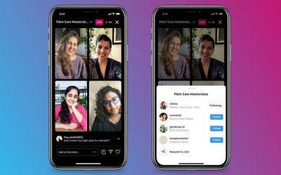 Instagram contraataca amb Live Rooms